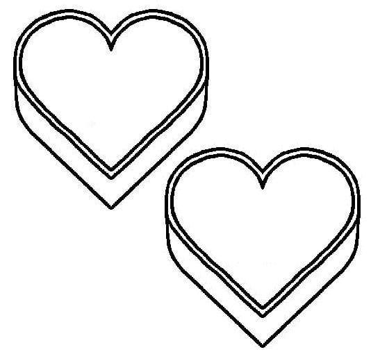 Conversation heart clip art clipart best for Candy heart coloring pages