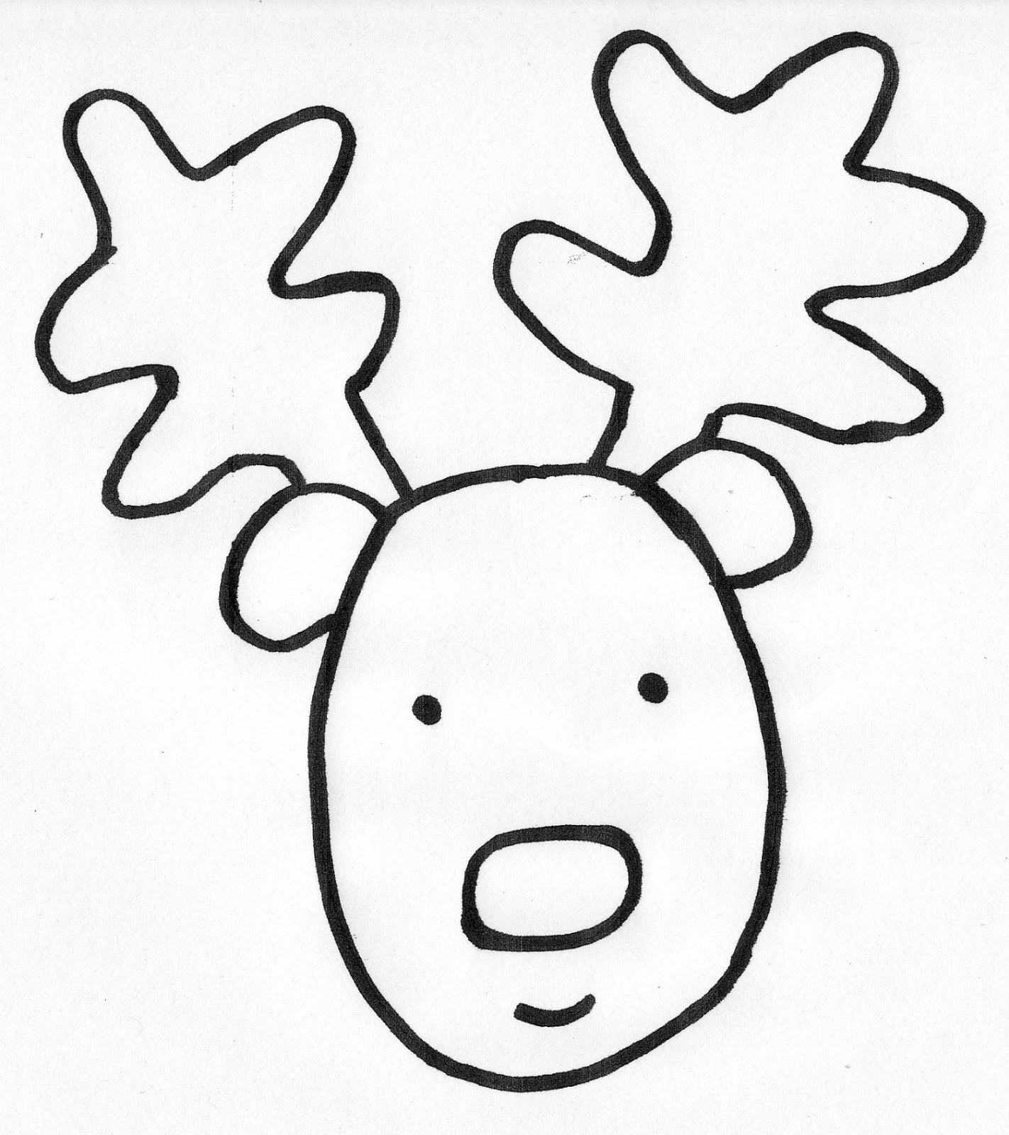 Kinder Journey: Reindeer Write The Room Freebie