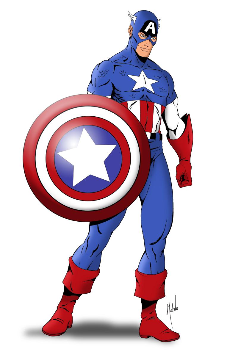Marvel Captain America - ClipArt Best