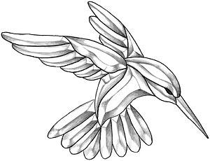 Fleurs En Forme De Coeur Coloriage Dessin 16914 likewise Hummingbird Drawings as well Gecko lizard drawing likewise  likewise 05. on free mosaic patterns for birds