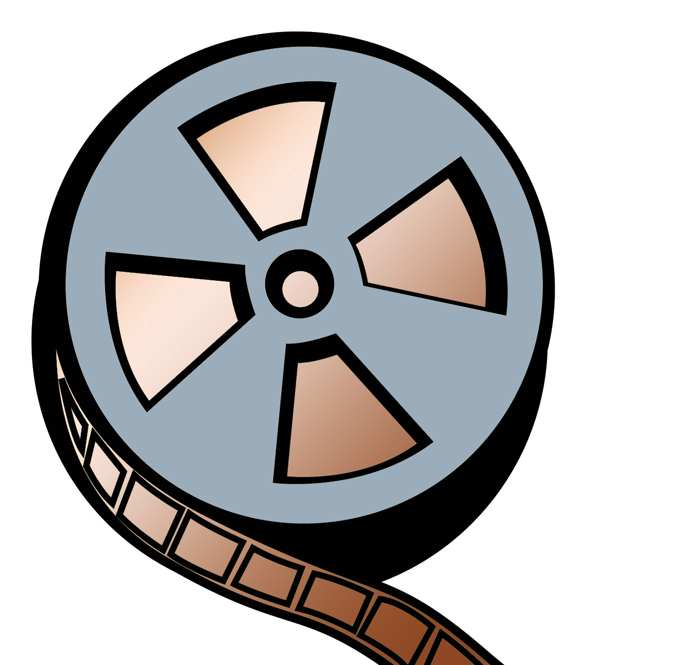 Movie Reel Logo The Image Kid Has It