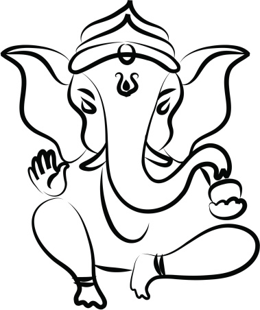 Ganesha Clip Art, Vector Images & Illustrations