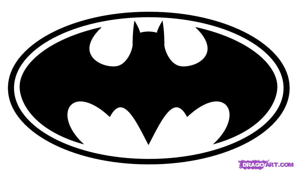 batman symbol template clipart best