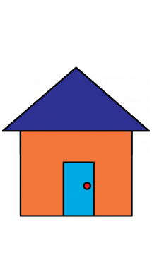 Simple house drawing clipart best Draw your house