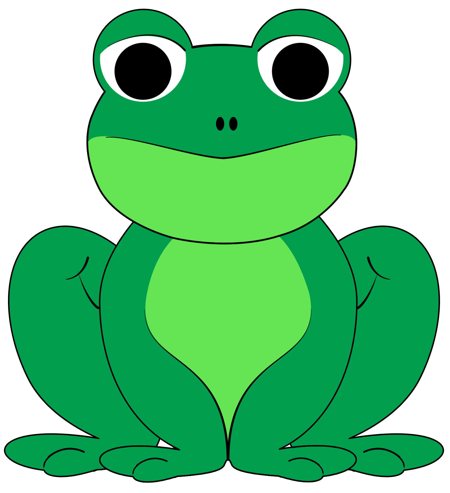 cute frogs   clipart best