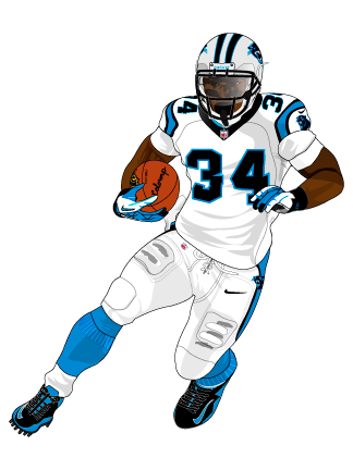 Nfl Football Players Drawings