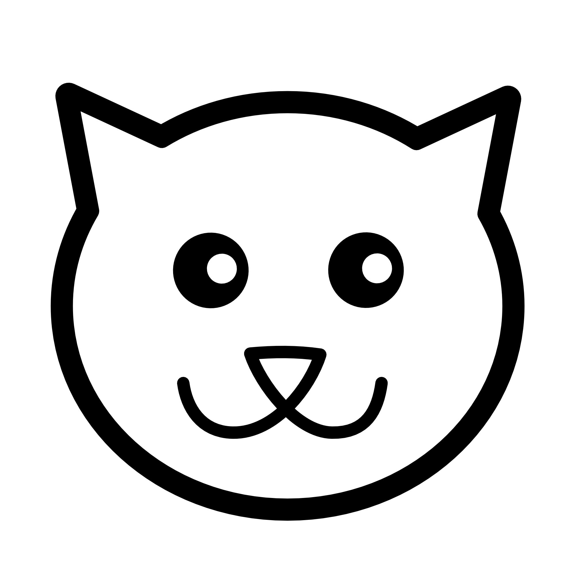 Line Drawing Animal Face : Animal line drawings clipart best