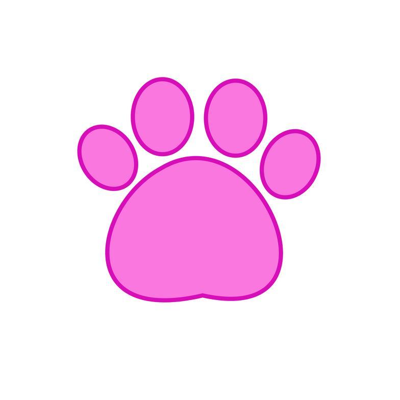 Pink Panther Footprint...