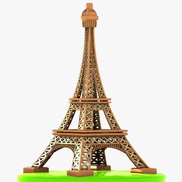 Clipart Of Eiffel Tower