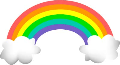 Pictures Of Cartoon Rainbows - ClipArt Best
