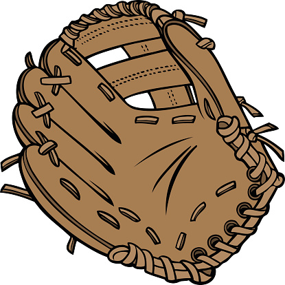 baseball glove cartoon clipart best