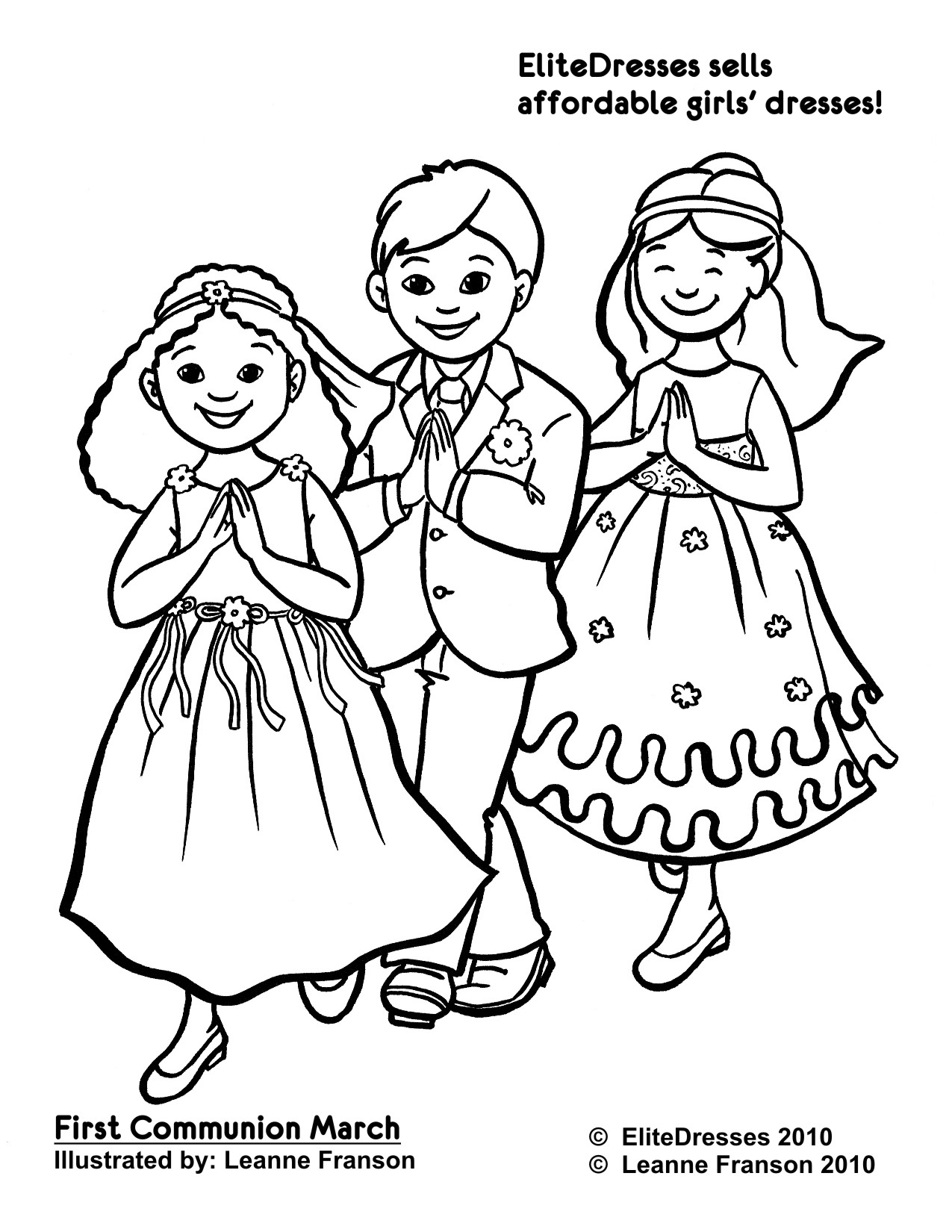 First communion printable pages clipart best for First reconciliation coloring pages