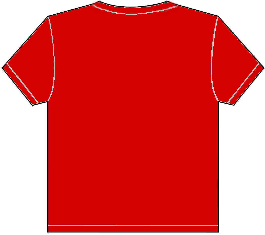 Red shirt template