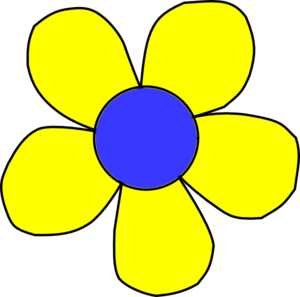 Free Yellow Flower Clipart - ClipArt Best