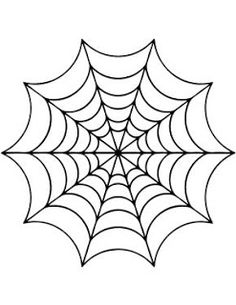 Spider Web Drawing - ClipArt Best
