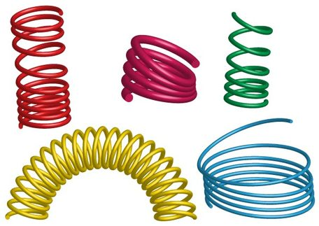 Spring coil clipart