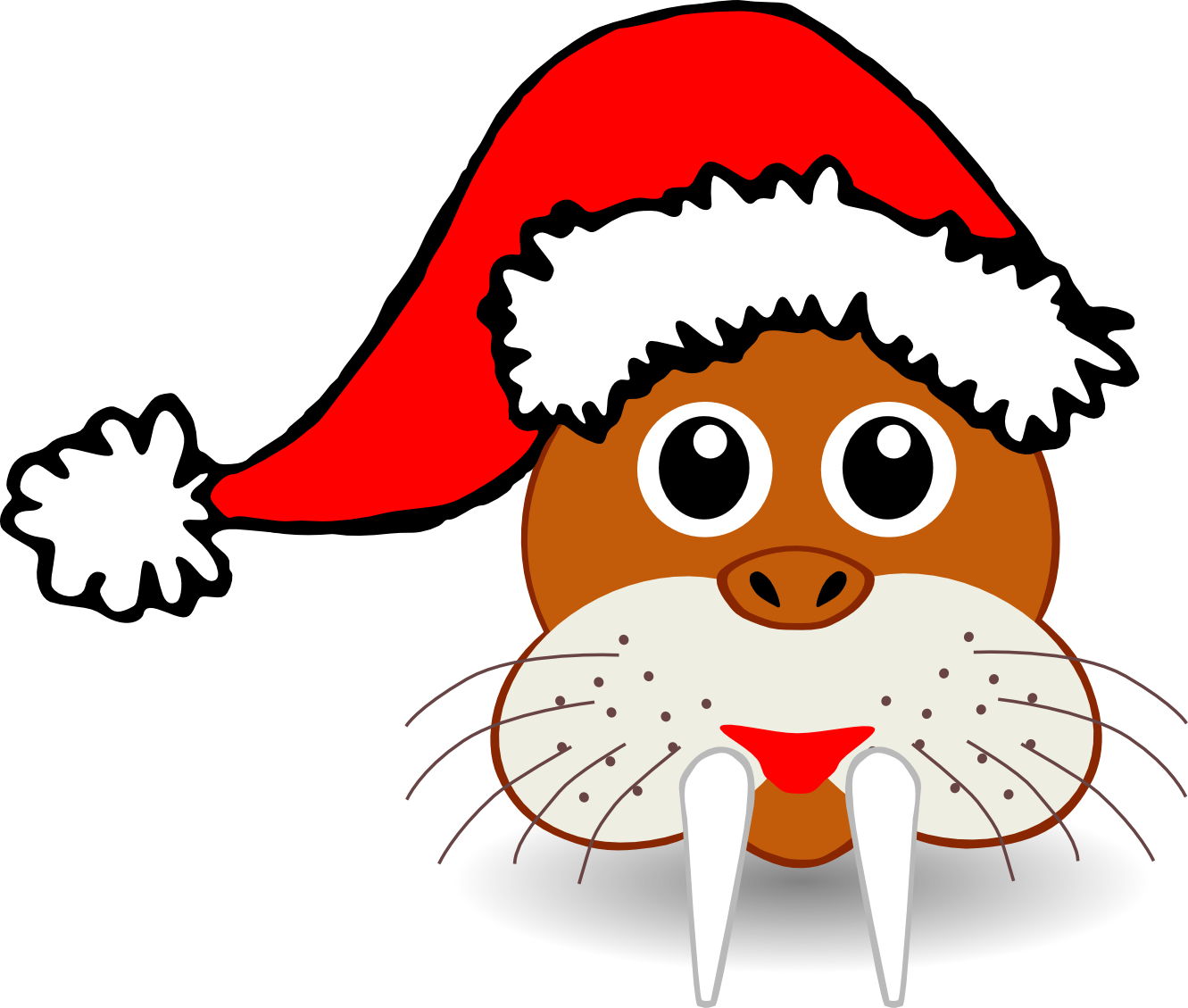 Cartoon Santa Hat - ClipArt Best