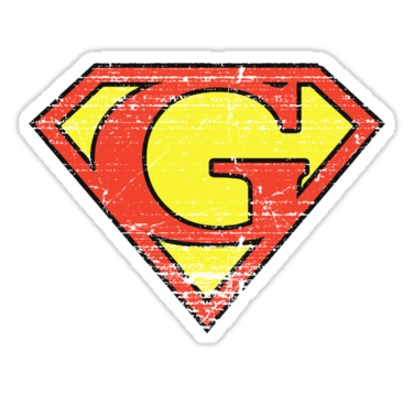 "Super Vintage G Logo"" Stickers by adamcampen 