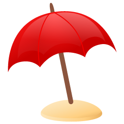 Cartoon Beach Parasol Clipart Best