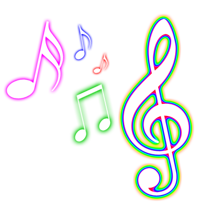 Glowing music note png - ClipArt Best - ClipArt Best