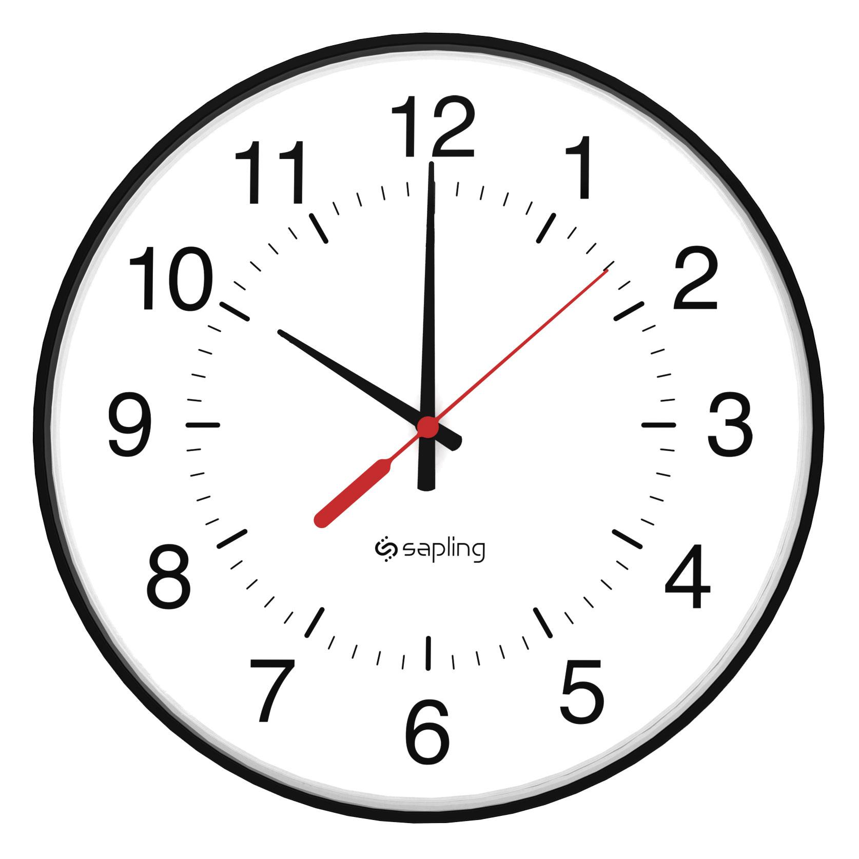 12 Analog Clock Clipart Best