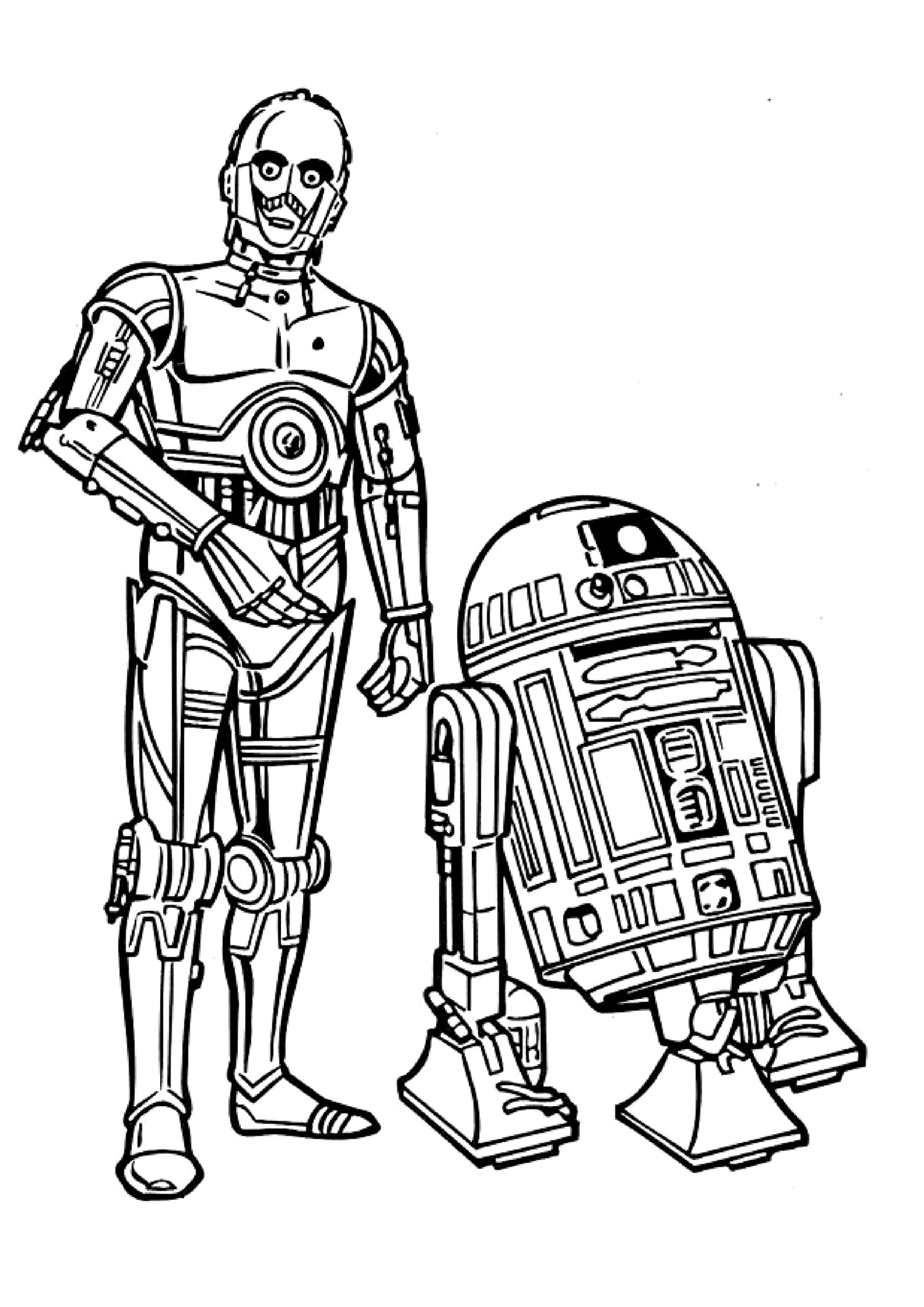 Line Drawing Star : Star wars line art clipart best