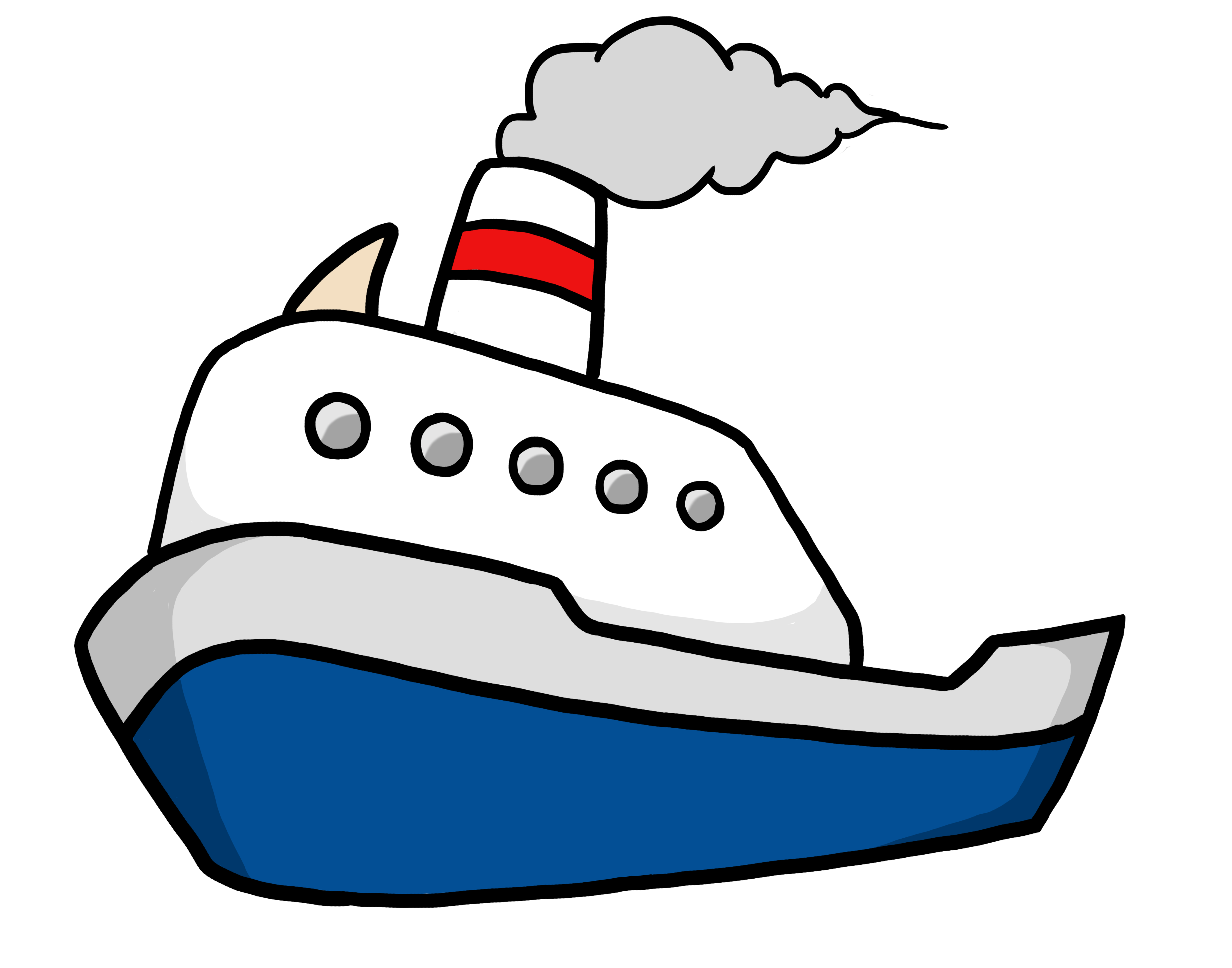 Cartoon pictures of a boat HRC Human Rights Campaign Nonprofit Store