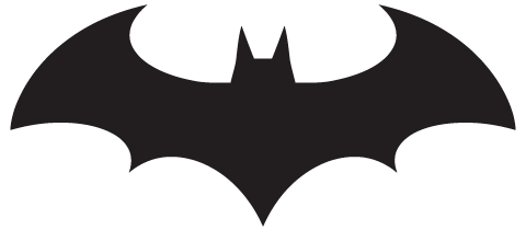 Batman Logo Template
