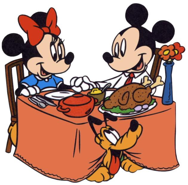 Clip Art Thanksgiving Dinner Clipart thanksgiving dinner clip art clipart best mickey minnie mouse turkey image