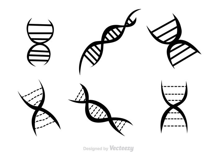 Double Helix Black Icons - Download Free Vector Art, Stock ...