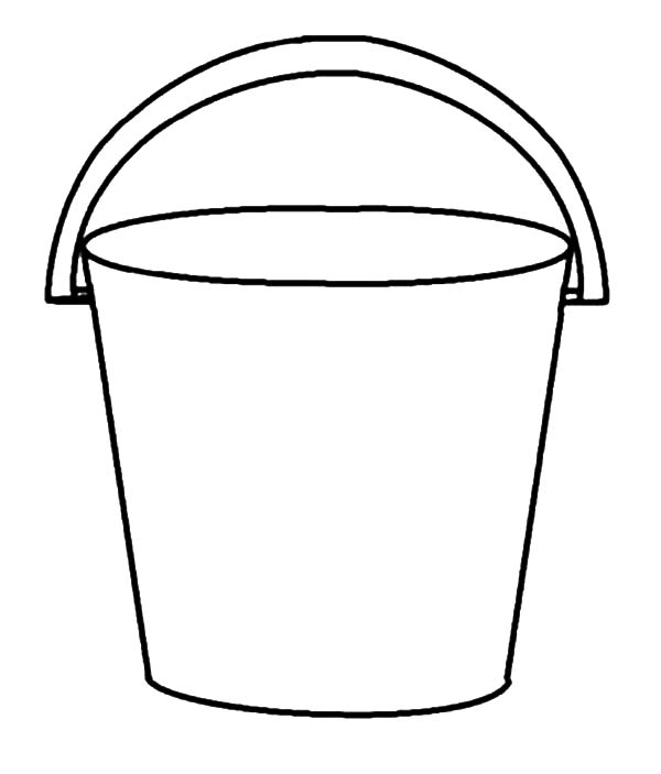 Exceptional image inside bucket printable