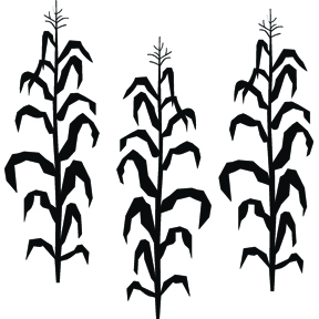Corn Silhouettes - ClipArt Best
