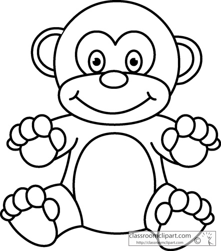 Child Body Outline Clip Art Outline of Childs Body
