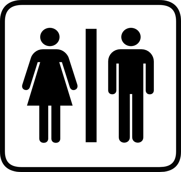32 Man And Women Bathroom Sign Free Cliparts That You Can Download