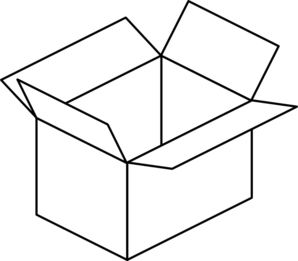 Open Box Clipart - Free Clipart Images