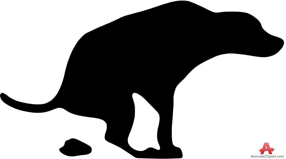 Dog Pooping Clip Art - ClipArt Best