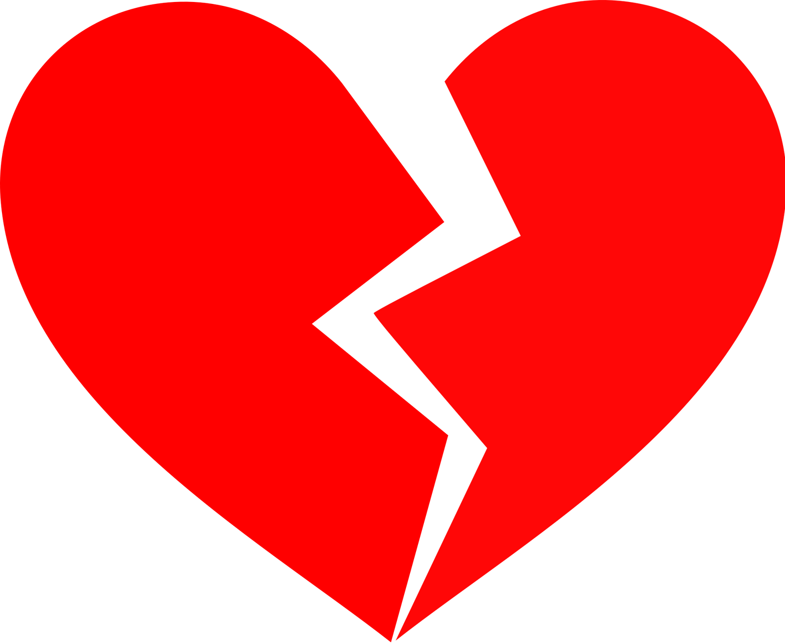 broken heart cartoon clipart best