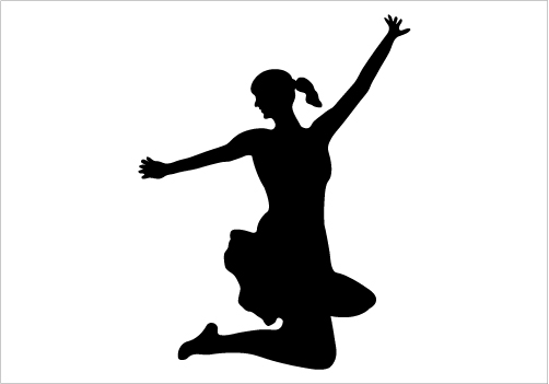 Jumping Silhouette - ClipArt Best