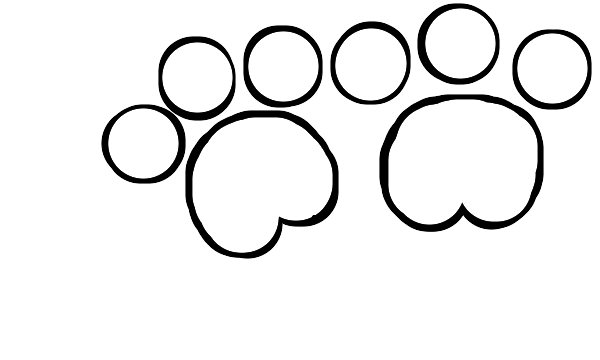 Bear Paw Drawing - ClipArt Best