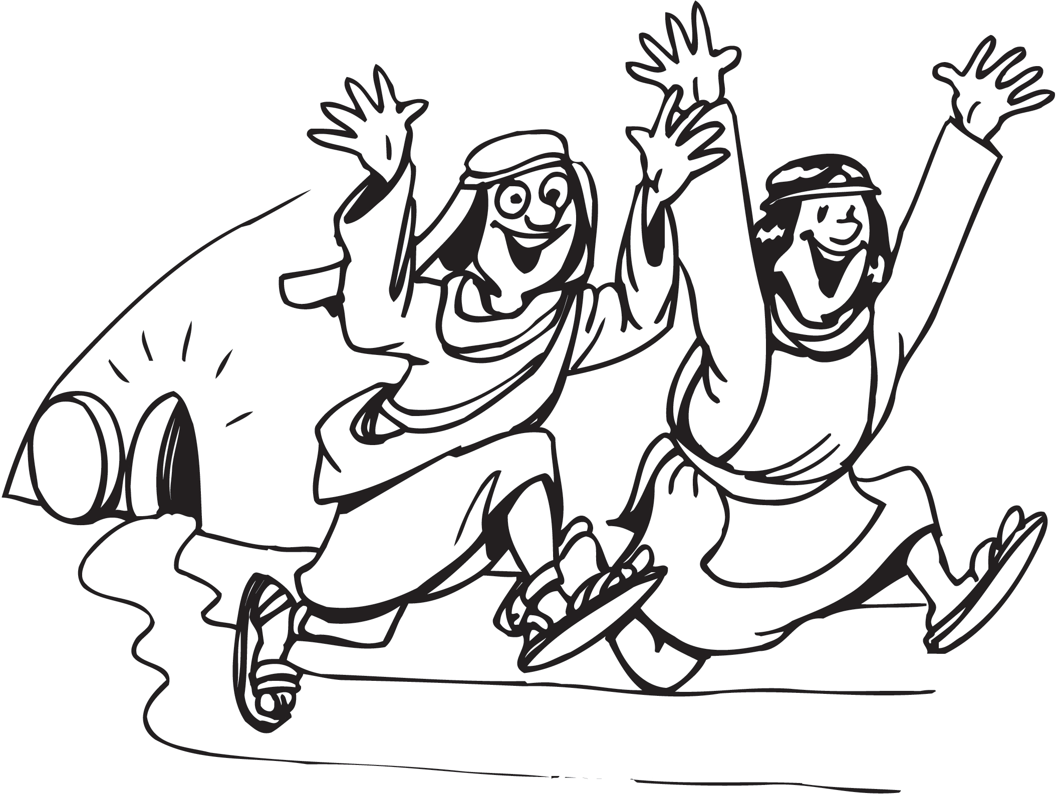 Coloring Pages For Resurrection Sunday : Empty tomb clip art clipart best