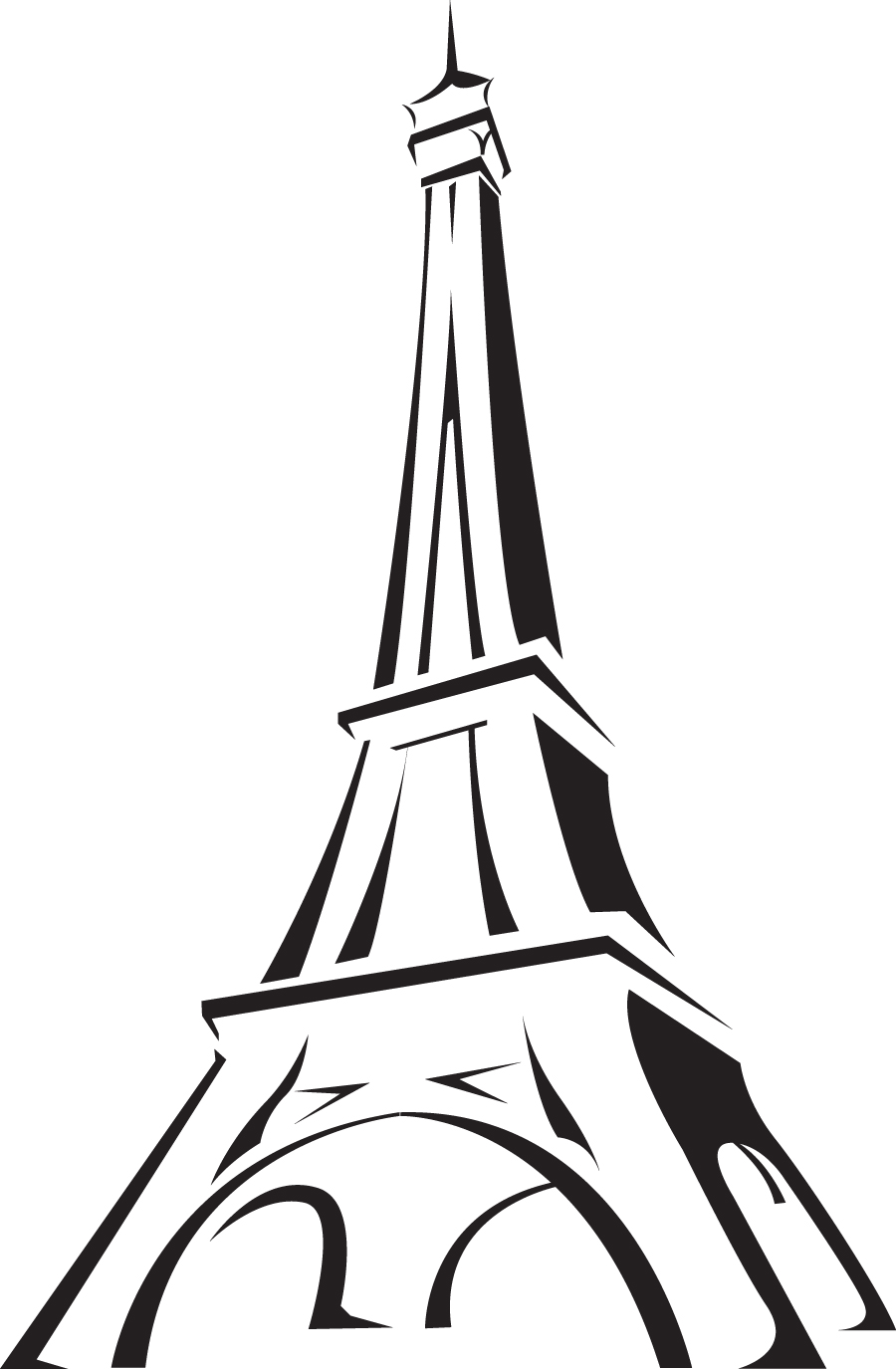 Eiffel tower | Clipart | Pinterest | Paris rooms, Room ...