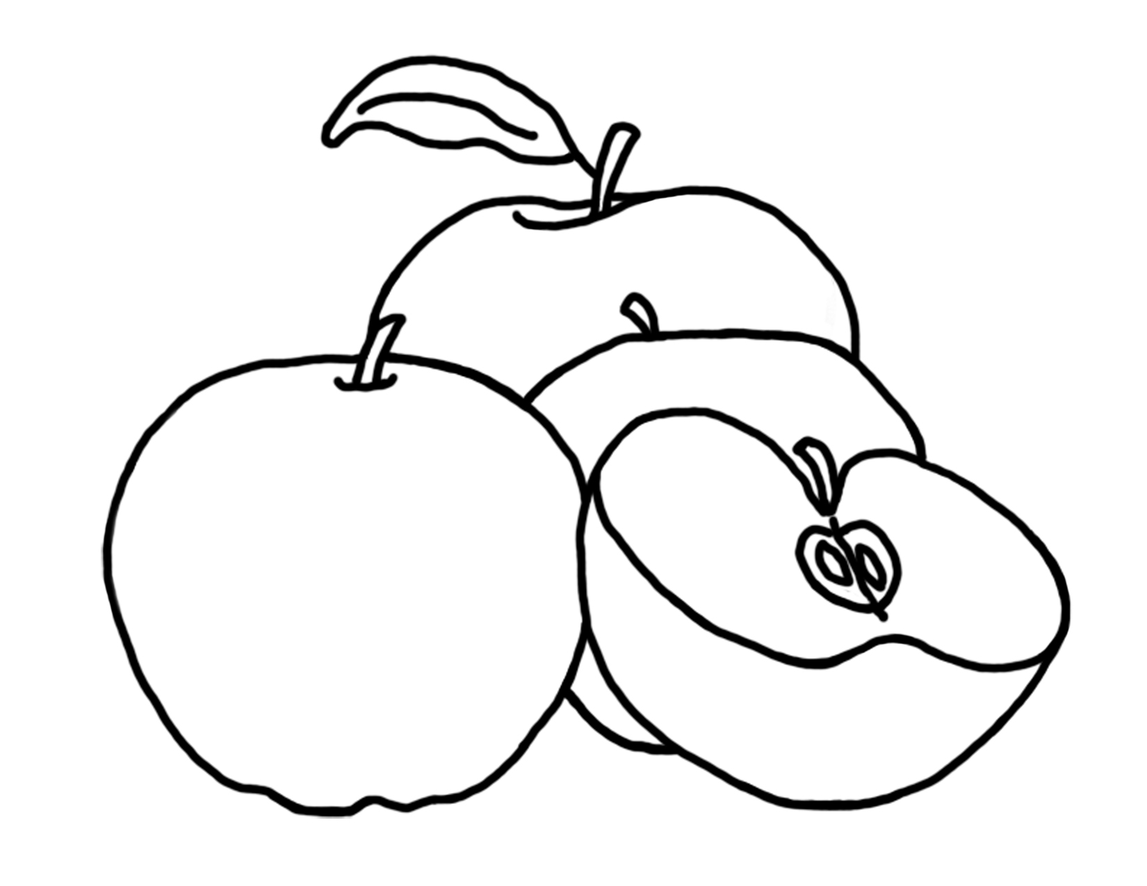 children picking apples coloring pages - photo#29