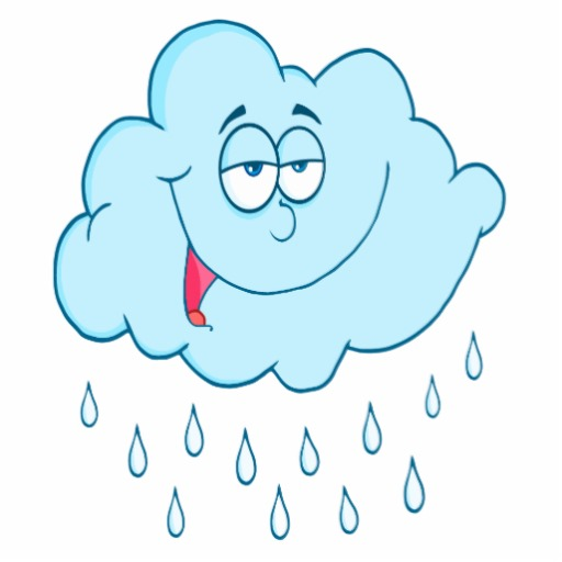 Clip Art Rainy Day Quotes: Cartoon Clouds And Rain