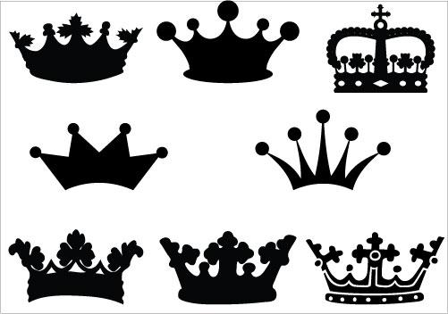 Silhouette Of A Crown - ClipArt Best