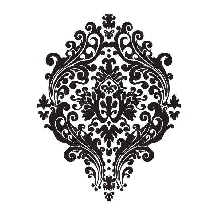 Damask Designs - ClipArt Best