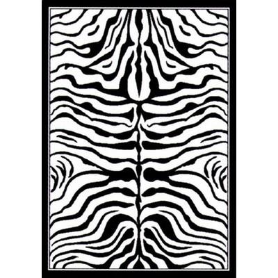 White Zebra Print Zebra Print Black/white