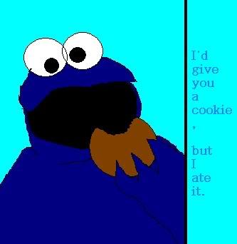 Cookie Monster Eating Cookies - ClipArt Best