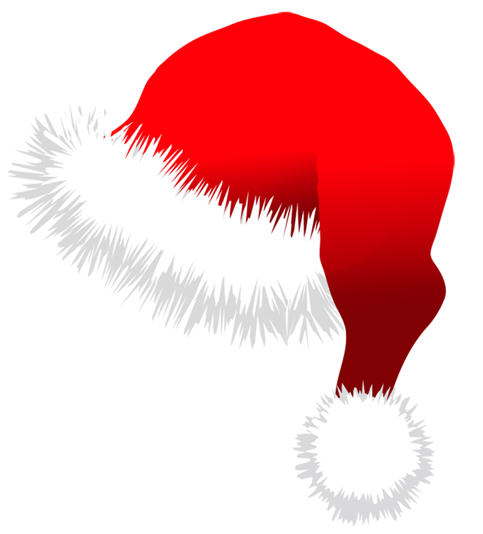 santa hat clipart with transparent background - photo #1