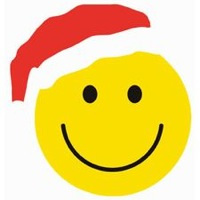 Santa Smiley Face - ClipArt Best