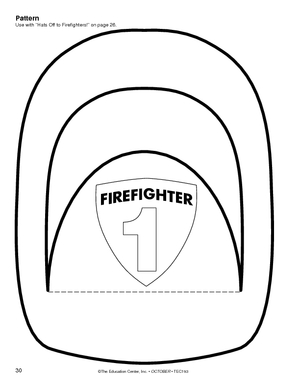 firefighter hat craft clipart best With firefighter hat template preschool